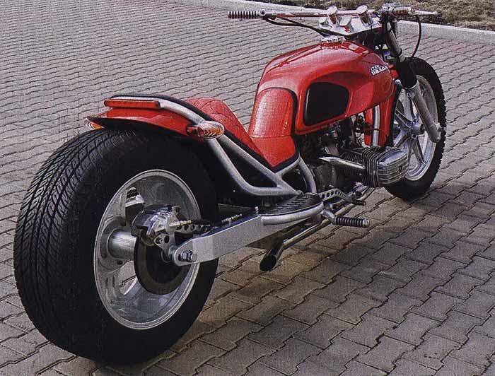 Самодельные мотоциклы чоппер.