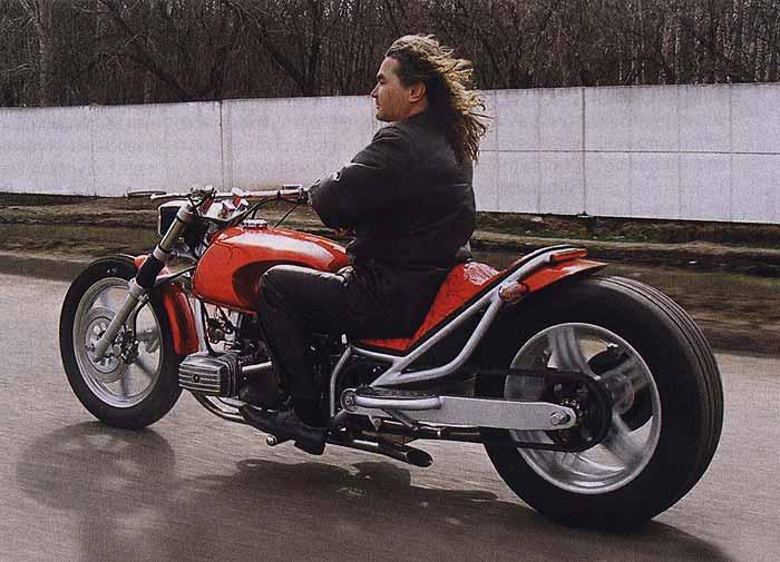 редуктор мотоцикла днепр для самодельного квадроцикла.