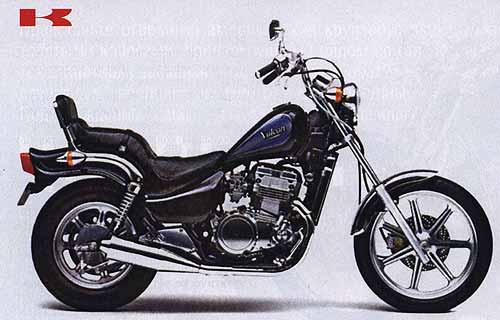 Чопперята. Чопперы и круизеры с объемом двигателя 400 см3. KAWASAKI EN400.