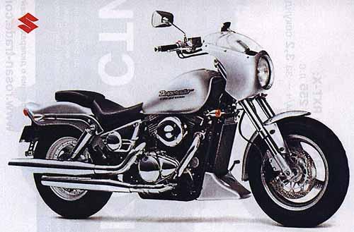 Чопперята. Чопперы и круизеры с объемом двигателя 400 см3. SUZUKI VZ400 Desperado.