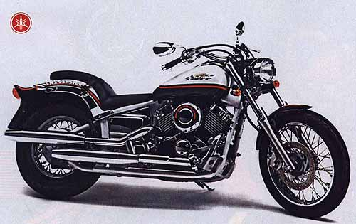Чопперята. Чопперы и круизеры с объемом двигателя 400 см3. YAMAHA XVS400 Drag Star.
