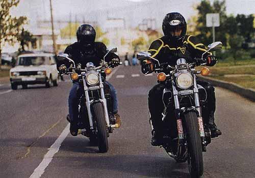Мотоциклы 125 mile traffic jam