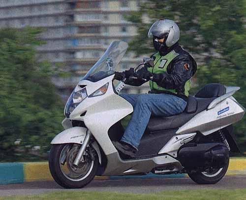 фото макси скутер