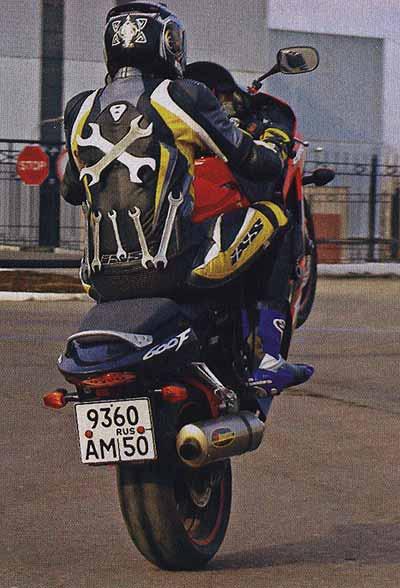 Обслуживаем мотоцикл HONDA CBR…