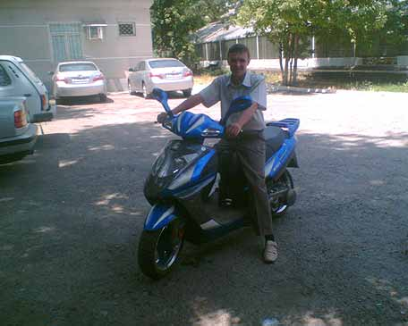 Купить запчасти на скутер honda tact 24