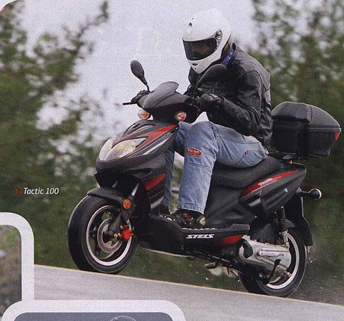 Как сделать что бы скутер разгонялся быстрей