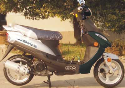 Скутеры, мопеды, кроссовые мотоциклы, дорожные мотоциклы, квадроциклы (ATV) ABM.