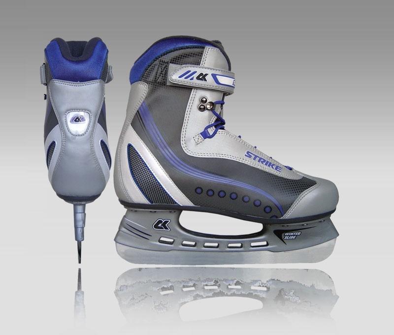 Они предназначены для обыкновенных прогулок на льду, благодаря которым можно укрепить мышцы ягодиц, ног, а также научиться постоянно держать спину в р.