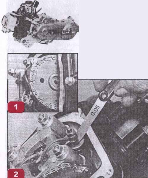 зазор клапанов на лодочном моторе хонда 50