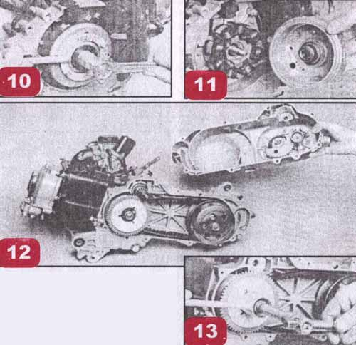 Ремонт четырехтактного мотора