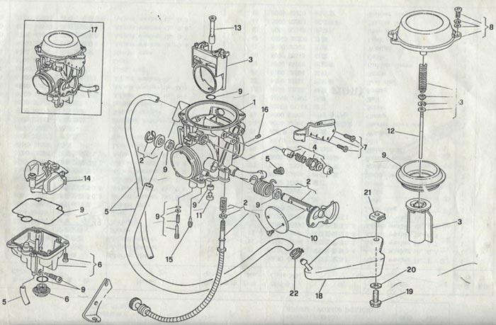 Коллектор впускной 45 Enduro/Forsage (196MR