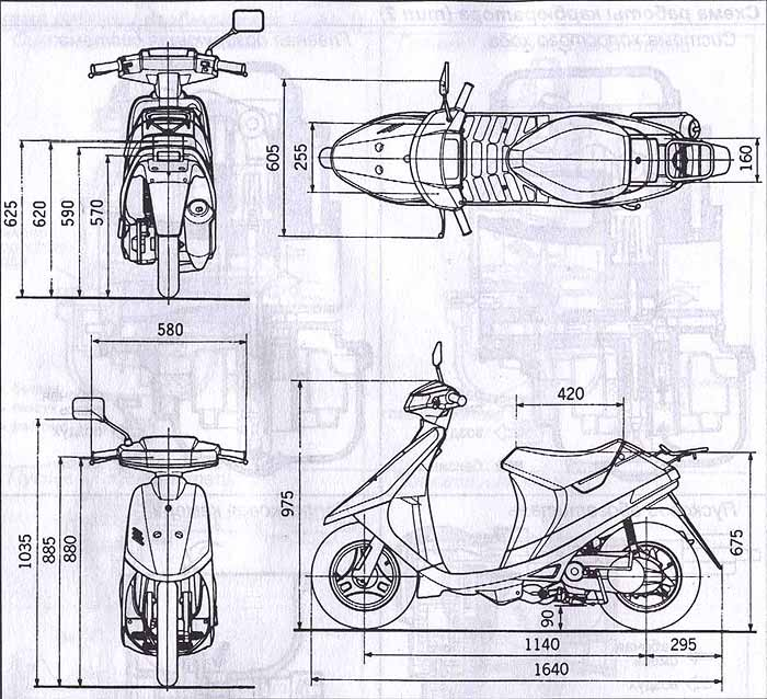книжка по эксплуатации скутера suzuki lets 2