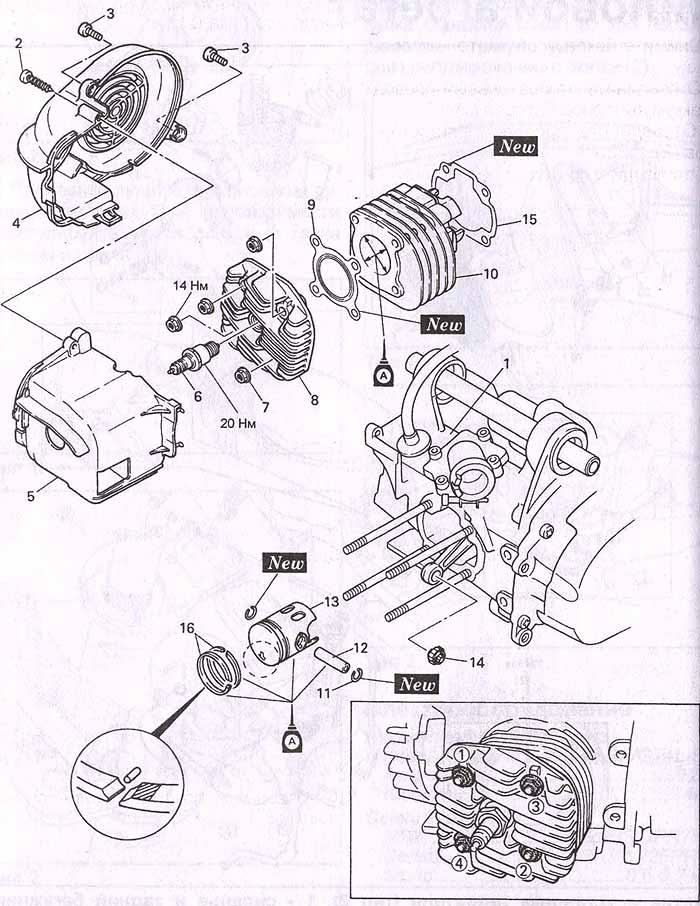 Инструкция для для двигателя