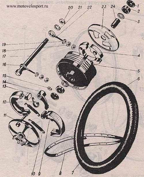 электросхема скутера 110 куб патр отмото