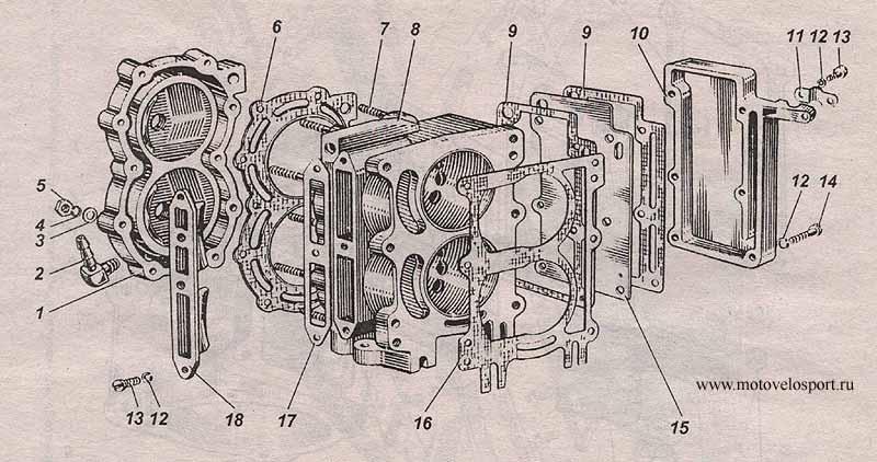 Лодочный мотор ветерок 8 ремонт своими руками