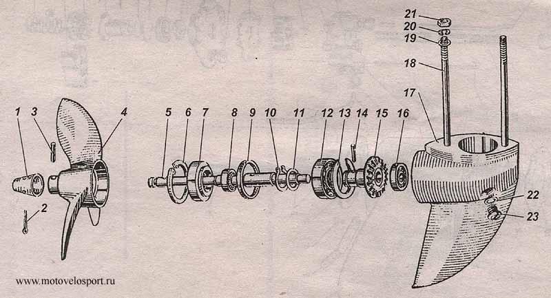 Ремонт лодочных моторов ветерок 8 своими руками